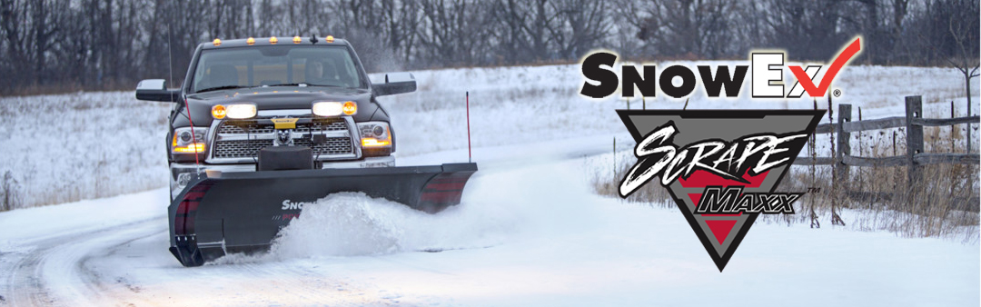 SnowEX Scrape Maxx – Adds Down-Force Ability to All Existing SnowEx Truck Plows